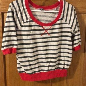 Soft crop sweatshirt